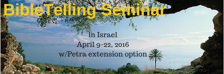 BibleTelling Seminar in Israel