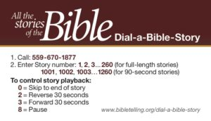 Dial-a-Bible-Story Side 1